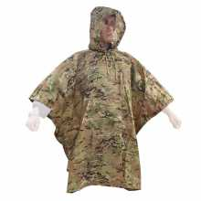 Raincoat Stich Profi Poncho Rip-Stop Multicam