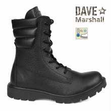 Boots DAVE MARSHALL ARSENAL SB-8AL Insulated Leather Black