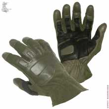 Gloves SRVV Commando-2 Leather with Spandex Coyote