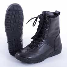 Boots Armada 1401 Zip Natural Fur Black