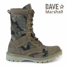 Boots DAVE MARSHALL AZIMUTH K-9 Lightweight with high berets leather multicam