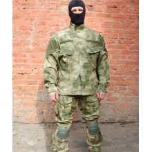 Jacket Garsing KSPN Rip-stop with Vent Valves and Removable Elbow Protection Camo A-FG