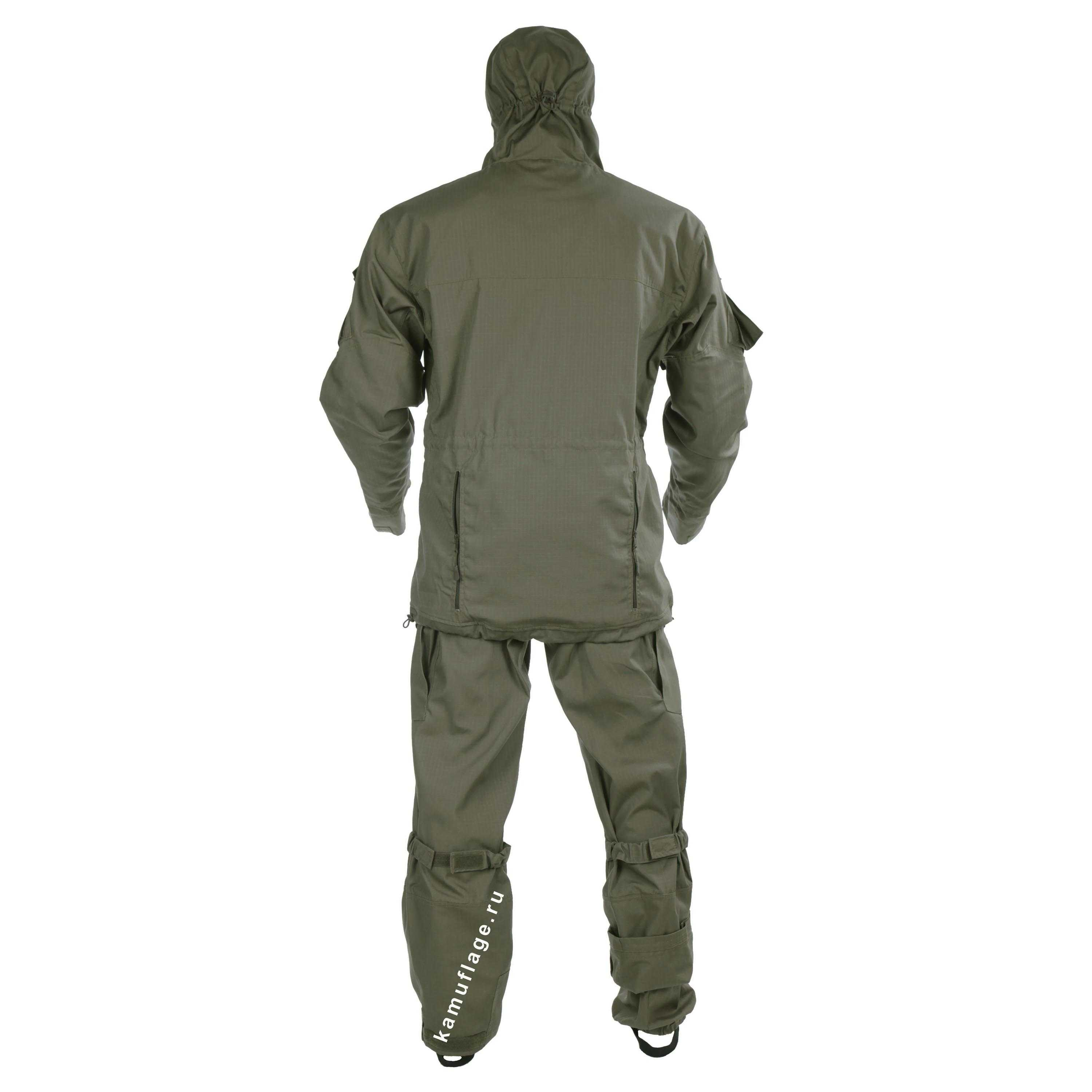 Suit KE Tactical Gorka-5Rip-stop  with Elbow and Knee Pads Olive